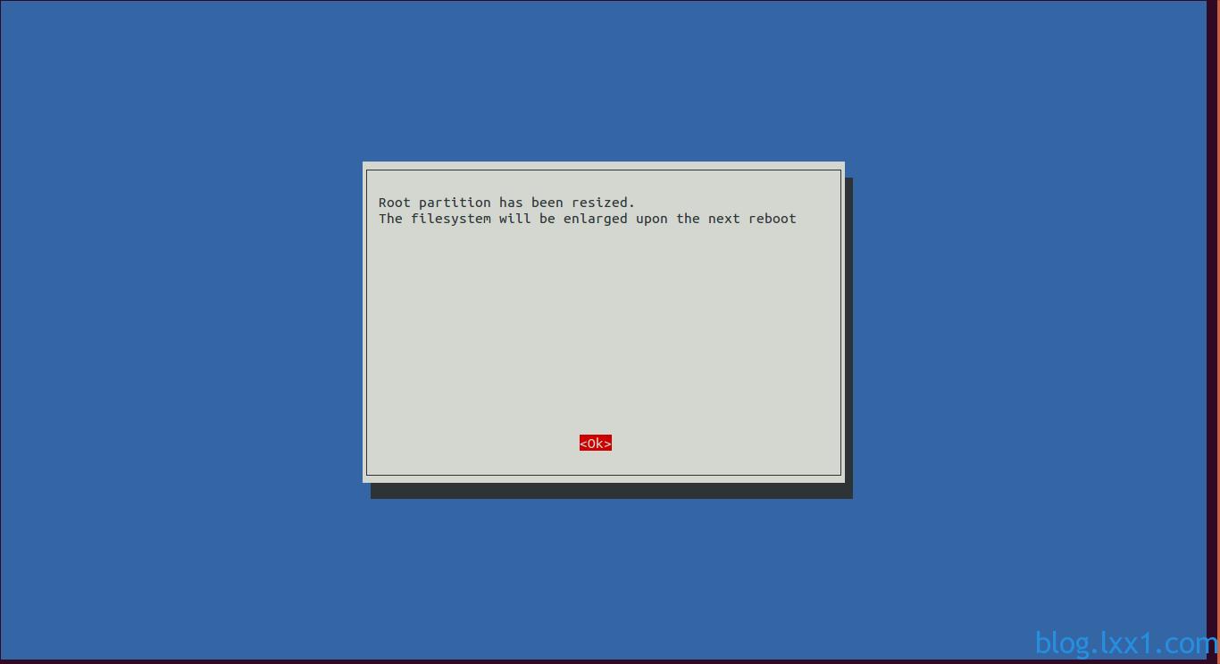 扩展文件系统完毕